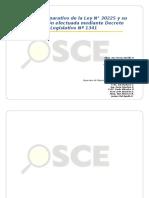 Cuadro Comparado Ley 30225 Dec Leg 1341 Con Fe de Erratas