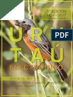 Urutau Electronico - No 5 - Noviemre 2017 - Ano 15 - Guyra Paraguay - Portalguarani