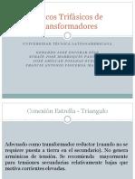 Bancos Trifásicos de Transformadores