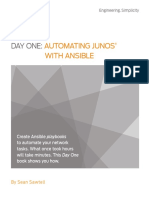 Day One- Automating Junos® with Ansible