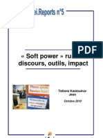 « Soft Power » russe