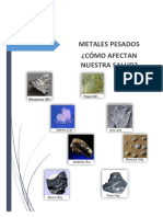 Metales Pesados Como Afectan La Saludultimoo