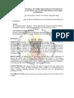 """EFECTO ANTITUMORAL """"IN VITRO"""" DEL EXTRACTO ETANÓLICO DE HOJAS DE """"GUANABANA"""" EN CULTIVO DE LÍNEAS CELULARES TUMORALES"""