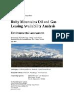 Ruby Mountains lease analysis