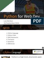 Python for Web