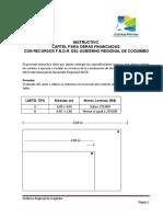 Medidas Letrero Gobierno Regional