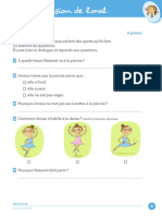 A2 Comprehension de l Oral Exercice 3