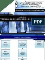 Tecnicas de Construccion en Edificaciones