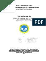 Lembar Persetujuan Laporan Prakerin