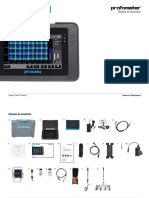 Profometer Operating Instructions Spanish High