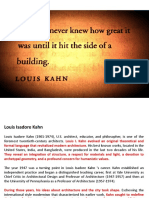 Louis I Khan