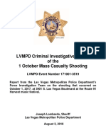 Oct. 1 shooting final report from the Las Vegas Metropolitan Police Department