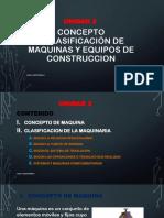 Clasificacion de Maquinas de Construccion