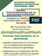 psicopedagogia de la educacion educacion superior