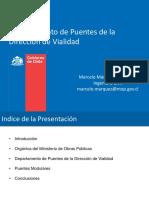 Marcelo Marquez Dpto de Puentes MOP Puentes-Modulares