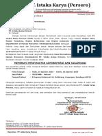 Surat Undangan Interview dan Seleksi Penerimaan PT Iskata Karya (Persero).pdf