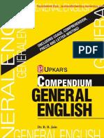 UPKAR's Compendium General English