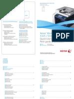 Guía de uso rápido Xerox WorkCentre 5325