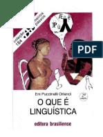 Kupdf.net Orlandi o Que e Linguistica