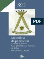Masoneria de Perfeccion 4to Al 14