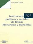 Viñas Antonio, Instituciones políticas y sociales de Roma. Monarquía y República.pdf