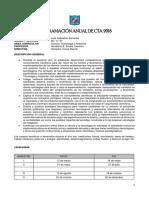 Programacion  Curricular Anual de  CTA  5°  Secundaria 2018 - Ccesa007