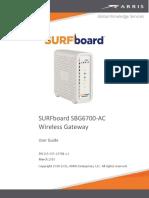 SBG6700 User Guide