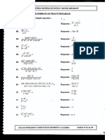 Ejercicios de Algebra