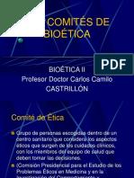 9.Los Comités de Bioética