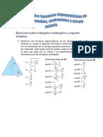 Tarea II de Trigonometria i