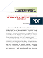 A Filosofia Kantiana Impossibilidade Ou Possibilidade de Uma Psicologia Cientifica.pdf