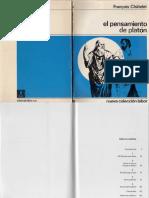 Chatelet Francois El Pensamiento de Platon