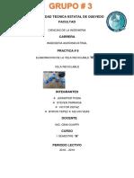 Informe - Velas Reciclables