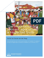 Ploeg, The Importance of Peasant Agriculture