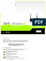 Linksys WAP54G  Manual