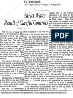 High Grade District Water Result Careful Controls