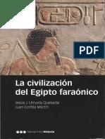 Urruela Quesada, Jesús & Cortés Martín, Juan - La civilización del Egipto faraónico