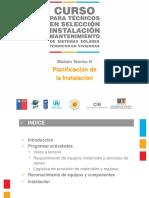 Módulo H - Planificación de La Instalación