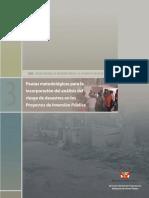 Pautas para incorporar Analisis de Riesgos.pdf
