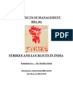 Strikes and Lockouts