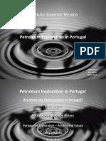 Petroleum Exploration in Portugal