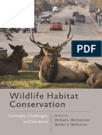 (Wildlife Management and Conservation) Michael L. Morrison, Heather a. Mathewson-Wildlife Habitat Conservation_ Concepts, Challenges, And Solutions-Johns Hopkins University Press (2015)