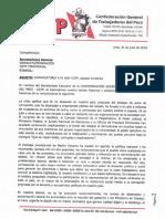 Convocatoria  IV AND CGTP