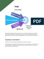 Leading Change - Reading