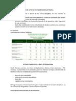 Tipos de Activos Financieros en Guatemala