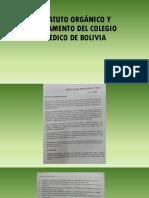Exposición Estatutos y Reglamentos CAPITULO PROVINCIALES