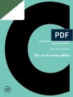 1.Etica en El Servicio Publico