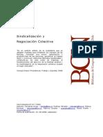 Arrau, Fernando y Otros - Sindicalizacion y Negociacion Colectiva.pdf