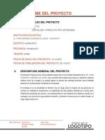 Informe Del Proyecto1
