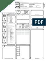 DnD CharacterSheet